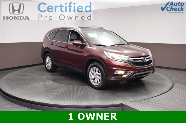 Certified Pre Owned 2015 Honda CR V EX L