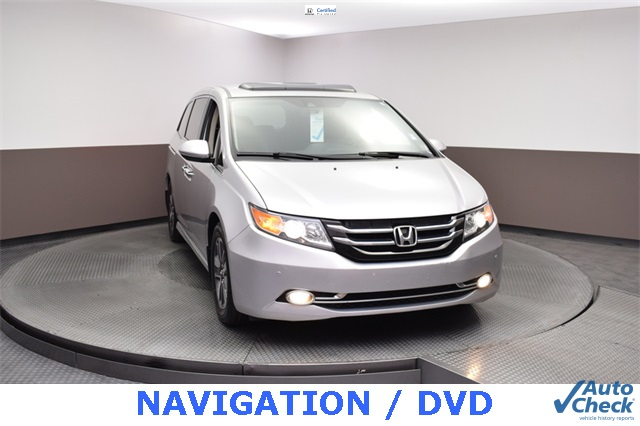 Pre Owned 2015 Honda Odyssey Touring Elite