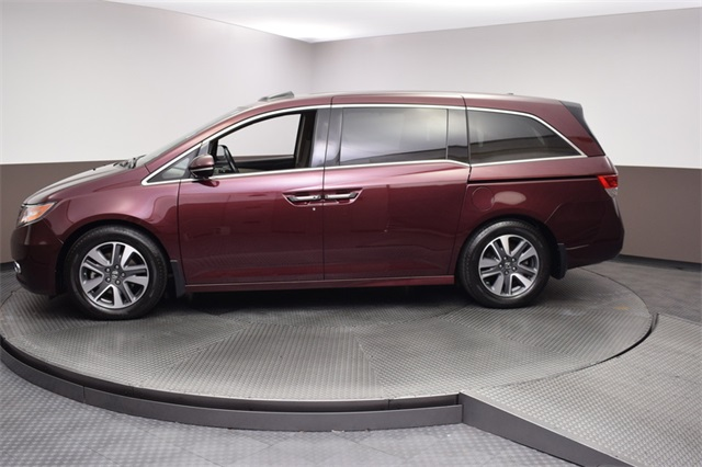 Certified Pre Owned 2015 Honda Odyssey Touring Elite